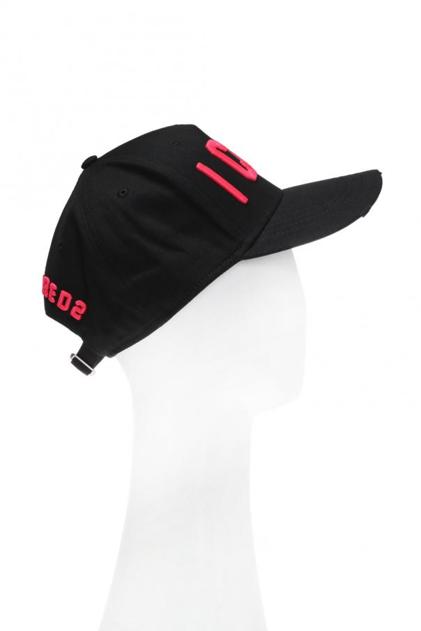 Embroidered lettering baseball cap od Dsquared2