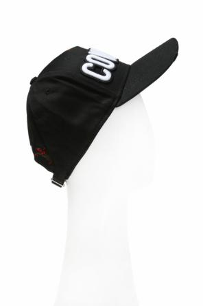 Baseball cap with a raw finish od Dsquared2