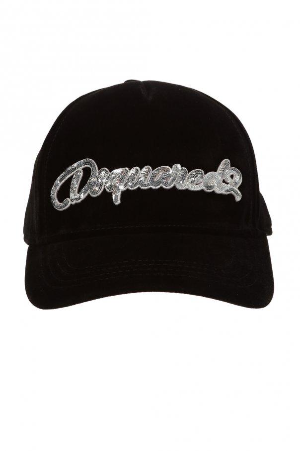 41250a13f Branded baseball cap Dsquared2 - Vitkac shop online