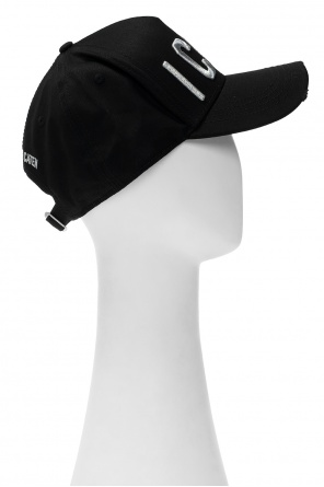 Hat with logo od Dsquared2