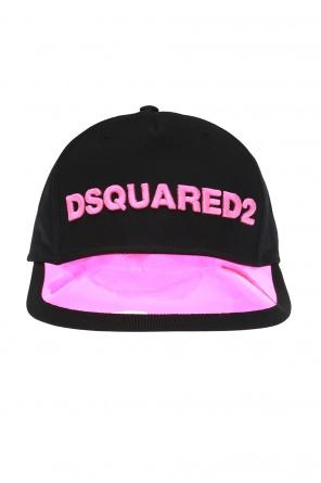 62ad7d215cf03 Baseball cap with transparent visor od Dsquared2 Baseball cap with  transparent visor od Dsquared2 quick-view
