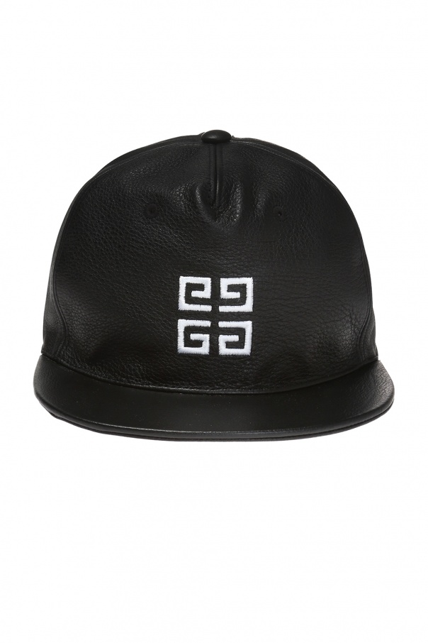 Leather baseball cap Givenchy - Vitkac shop online 642d95cf94f