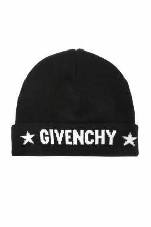 Contrasting logo hat od Givenchy