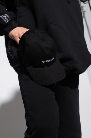 Logo-embroidered baseball cap od Givenchy