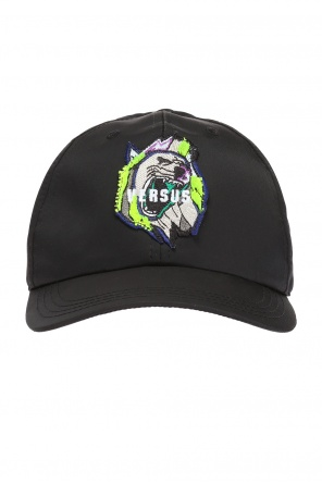 Patched baseball cap od Versace Versus