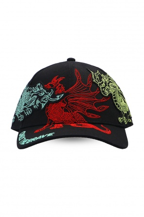 Embroidered baseball cap od Diesel