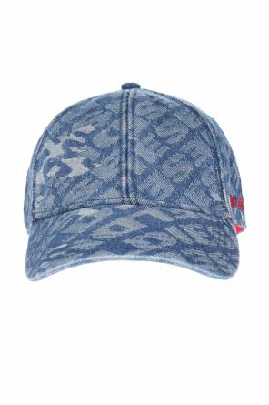 C-jacky' baseball cap with an animal motif od Diesel
