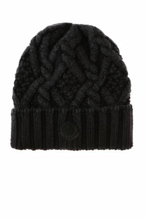 Braided hat od Moncler