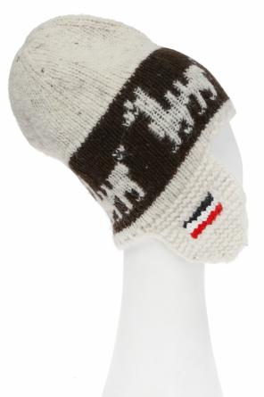 Hat with earflaps od Moncler