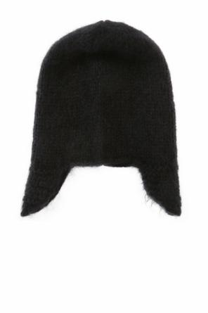 Wool hat with earflaps od Moncler