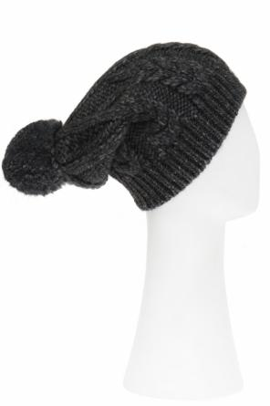 Braided pompom hat od Moncler