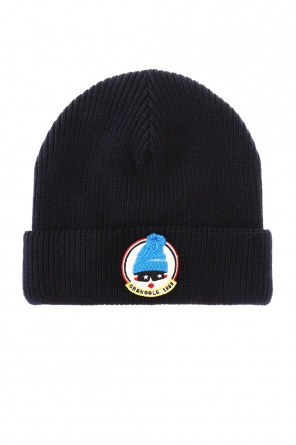 Hat with colourful patch od Moncler Grenoble
