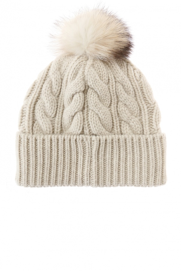 3406a44f79c Hat with marmot fur pompon Moncler Grenoble - Vitkac shop online