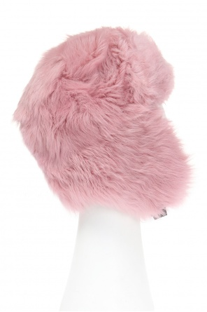 Hat with lamb fur od Moncler Grenoble