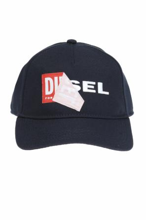 Logo-embroidered baseball cap od Diesel
