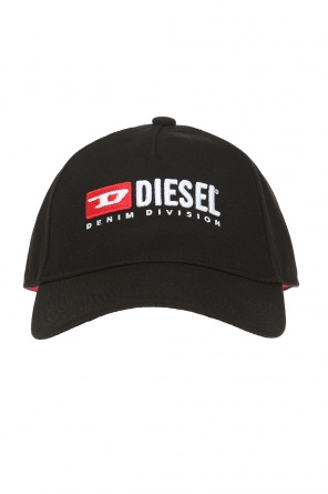 Cakerym' baseball cap with  embroidered inscription od Diesel