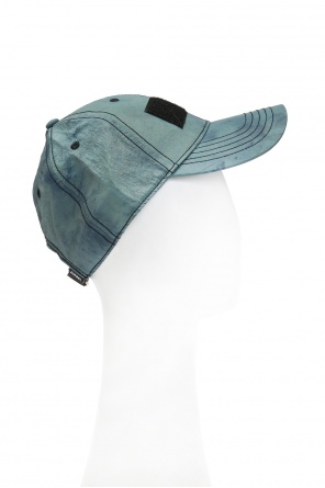 Cetras' baseball cap with a sewn on application od Diesel