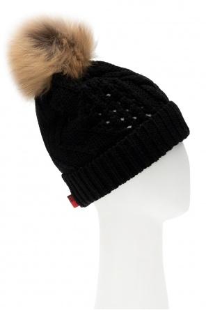 Fur pompom hat od Woolrich