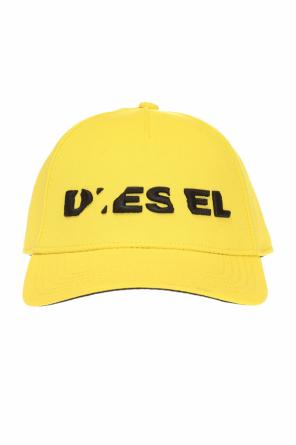 Cides' baseball cap with  embroidered logo od Diesel