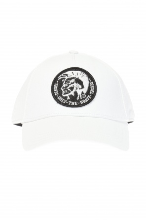 Cap with embroidered logo od Diesel