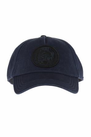 Patched baseball cap od Diesel
