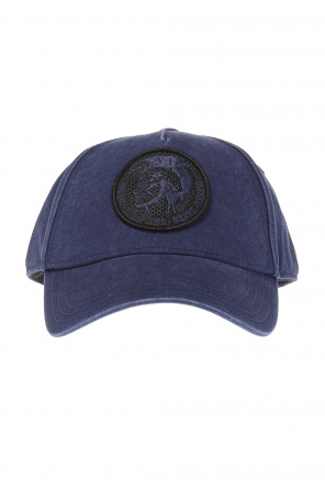 Embroidered logo baseball cap od Diesel