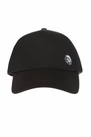 Cides' baseball cap with  embroidered inscription od Diesel