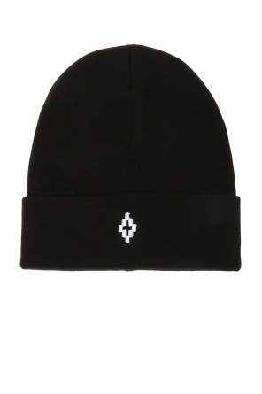 Patched hat od Marcelo Burlon