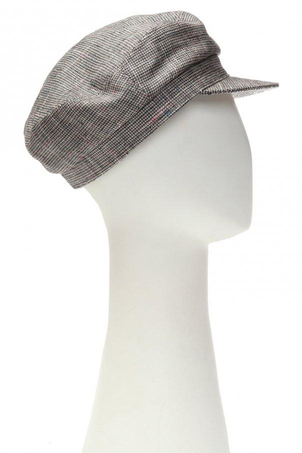 Checked flat cap od Isabel Marant