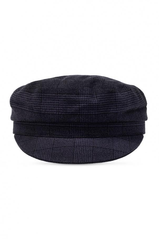 Isabel Marant Checked flat cap
