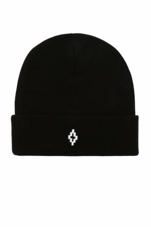 Hat with an embroidered logo od Marcelo Burlon