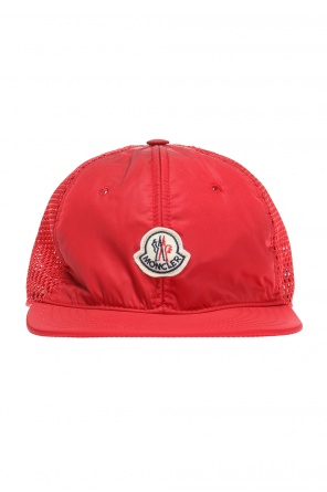Cap with embroidered logo od Moncler