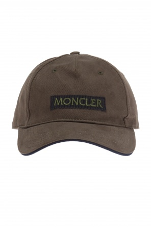 Logo-embroidered baseball cap od Moncler