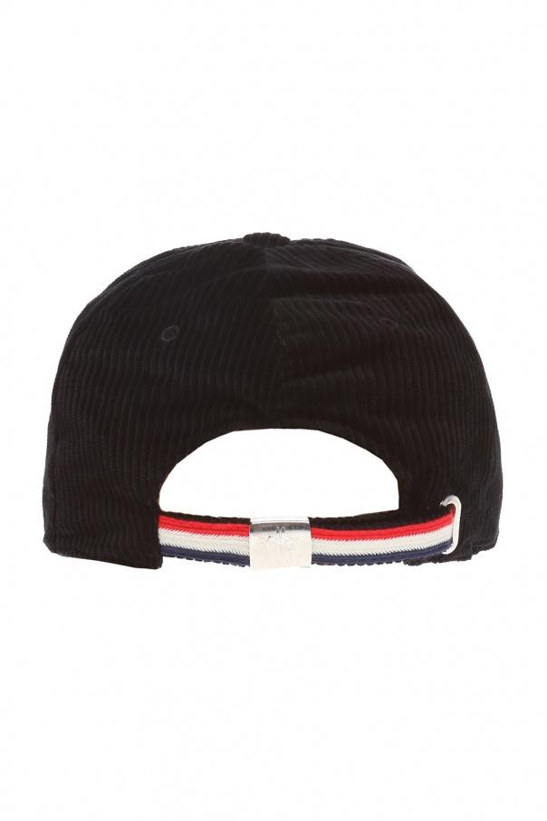 450893d56d1 Corduroy baseball cap Moncler - Vitkac shop online