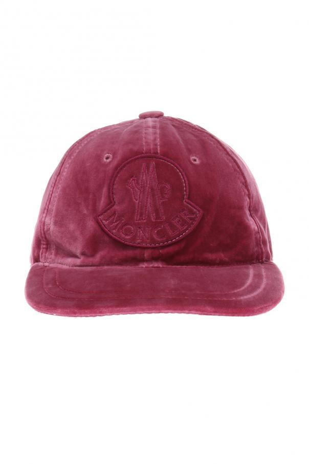 62775f3a0fe Velvet baseball cap Moncler - Vitkac shop online