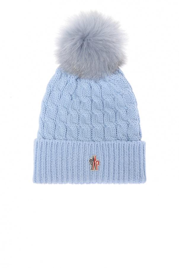 7c1cb830f99 Wool hat with logo Moncler Grenoble - Vitkac shop online