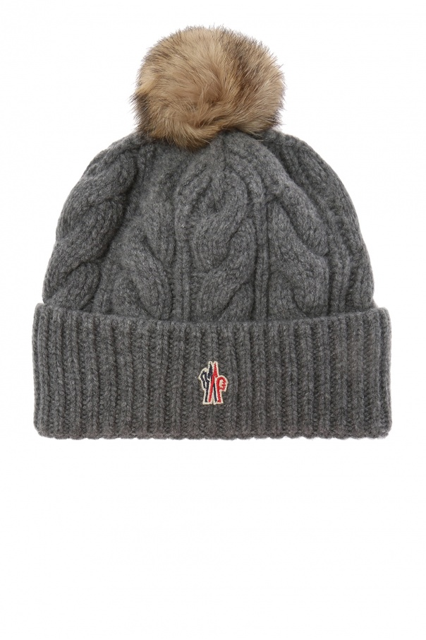 Wool hat with logo Moncler Grenoble - Vitkac shop online 09e0eefc5420