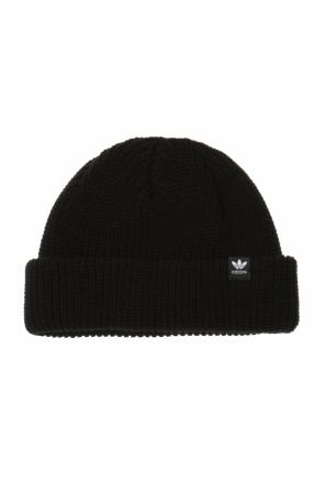 Ribbed hat with logo od ADIDAS Originals