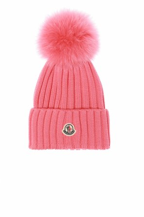 Decorative pompom hat od Moncler
