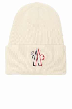 Hat with fur patch od Moncler Grenoble