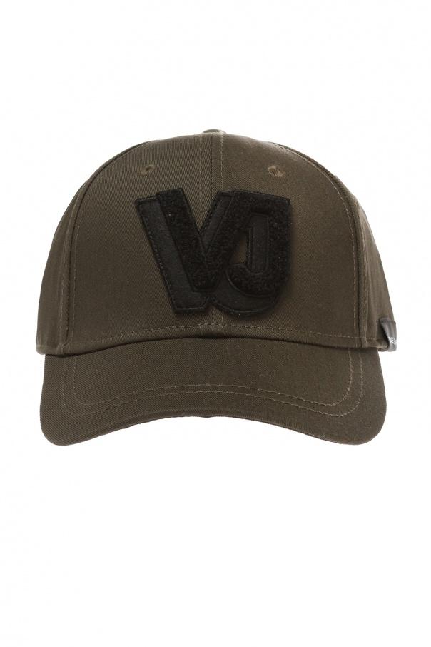 f351de6cba6 Logo-patched baseball cap Versace Jeans - Vitkac shop online