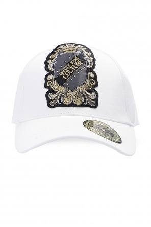 Patched baseball cap od Versace Jeans Couture