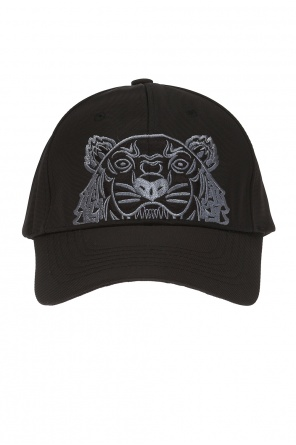 Baseball cap with a tiger head motif od Kenzo