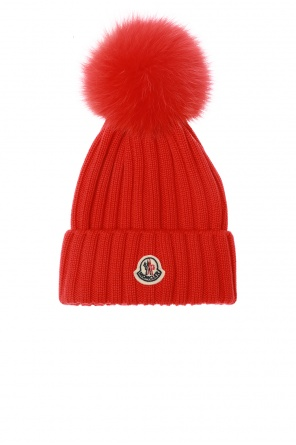 Hat with logo od Moncler
