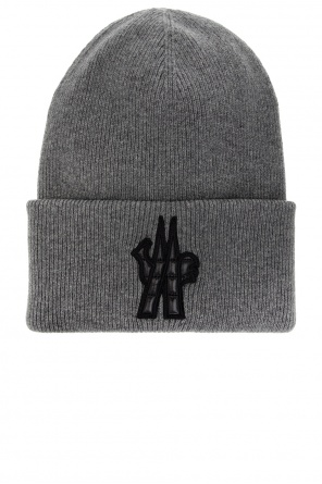 Knitted hat with logo od Moncler Grenoble