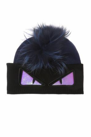 Hat with fur insert od Fendi