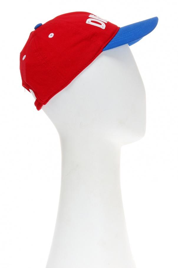 Printed baseball cap od Diesel