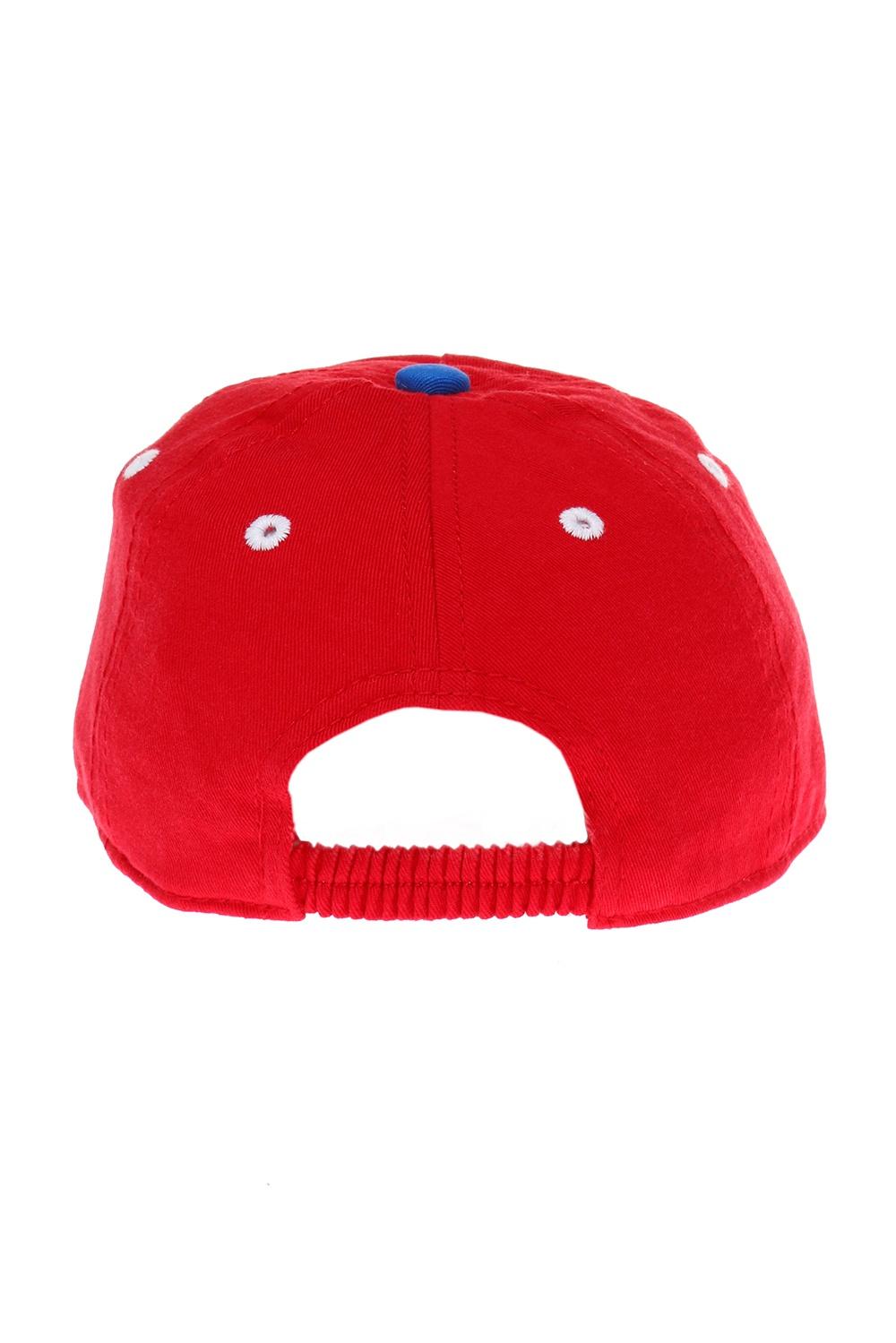 Diesel Kids Printed baseball cap