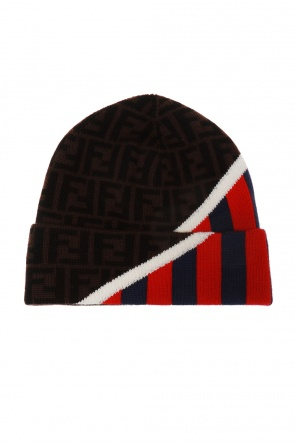 Embroidered wool hat od Fendi