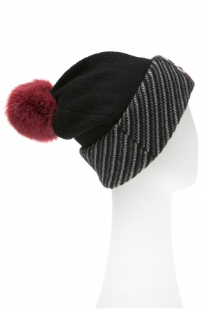 Karl lagerfeld-inspired hat od Fendi